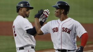 Defending World Champion Red Sox Starting To Look The Part