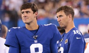 Manning Benched; Jones To Start For Giants
