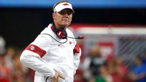 NCAA Football News and Notes Morris Out At Arkansas