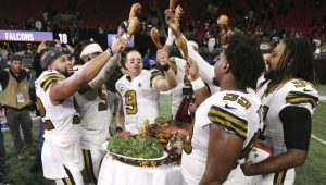 NFL News and Notes: Saints First To Clinch Playoff Berth