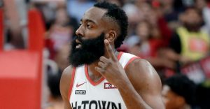 Harden Leading Rockets With Red-Hot Scoring Tear