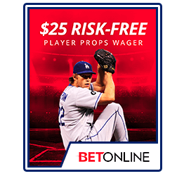 BetOnline $25 Risk Free Props Wager