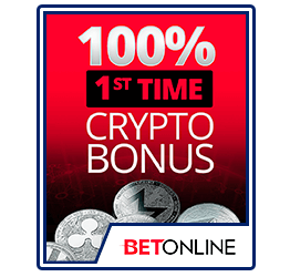 BetOnline Crypto Bonus First Time