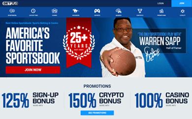 BetUS Sports Site