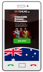 Mobile Betting Australia BetOnline