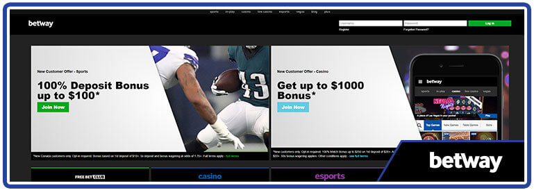 review betway canada home page
