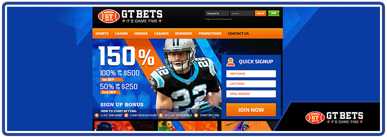 review gtbets home page