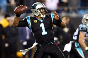 Cam Newton Out Against Arizona