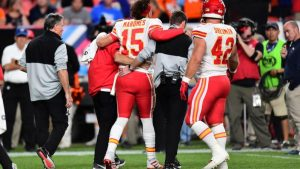 Mahomes Suffers Injury In Chiefs Win