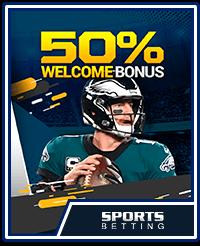 SportsBetting.ag 50% Welcome Bonus